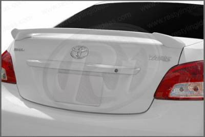 Spoilers - Custom Wing - Restyling Ideas - Toyota Yaris Restyling Ideas Custom 2-Post Style Spoiler - 01-TOYA07C42P