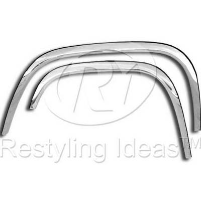 Canyon - Fenders - Restyling Ideas - GMC Canyon Restyling Ideas Fender Trim - 02-CH-COL04