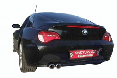 Exhaust - Mufflers - Remus - BMW Z4 Remus Rear Silencer with Dual Exhaust Tips - Round - 088506 0588TD