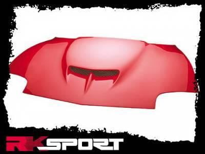 Sunfire - Hoods - RK Sport - Pontiac Sunfire RK Sport Ram-Air Hood - 06010302-CF