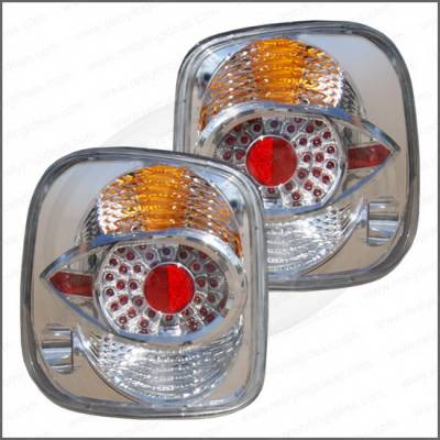 Headlights & Tail Lights - Tail Lights - Restyling Ideas - GMC Sierra Restyling Ideas Taillights - Replacement - 1TLZ-601506C