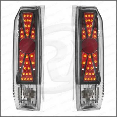 Headlights & Tail Lights - Tail Lights - Restyling Ideas - Ford Bronco Restyling Ideas Taillights - Replacement - 1TLZ-601518BC