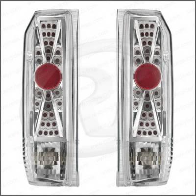 Headlights & Tail Lights - Tail Lights - Restyling Ideas - Ford Bronco Restyling Ideas Taillights - Replacement - 1TLZ-601518C