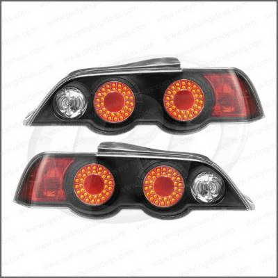 Headlights & Tail Lights - Tail Lights - Restyling Ideas - Acura Integra 2DR Restyling Ideas Taillights - Replacement - 1TLZ-601527BC