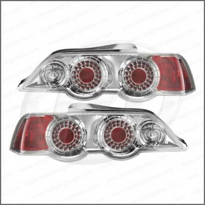 Headlights & Tail Lights - Tail Lights - Restyling Ideas - Acura Integra 2DR Restyling Ideas Taillights - Replacement - 1TLZ-601527C