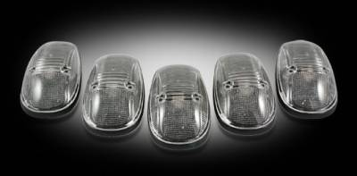 Headlights & Tail Lights - Roof Lights - Recon - Dodge Recon Cab Lights - 264145BK