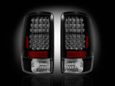 Headlights & Tail Lights - Tail Lights - Recon - GMC Denali Recon LED Taillights - Smoked Lens - 264177BK