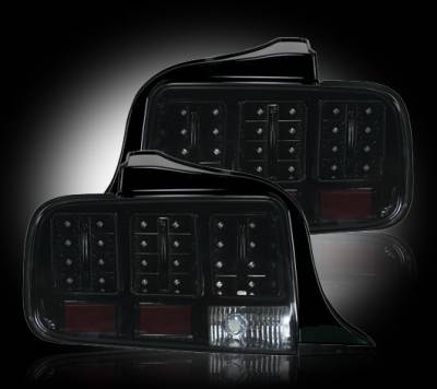 Headlights & Tail Lights - Led Tail Lights - Recon - Ford Mustang Recon LED Taillights - 264187BK
