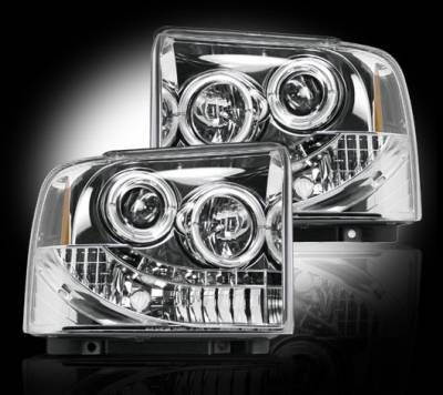 Headlights & Tail Lights - Headlights - Recon - Ford Superduty F350 DRW Recon Projector Headlights - 264193CL