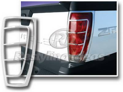 Headlights & Tail Lights - Tail Light Covers - Restyling Ideas - Chevrolet Avalanche Restyling Ideas Taillight Bezel - Chrome - 26818N