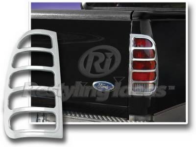 Headlights & Tail Lights - Tail Light Covers - Restyling Ideas - Ford F350 Restyling Ideas Taillight Bezel - Chrome - 26820N