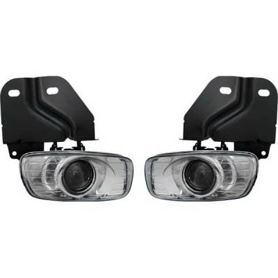 Headlights & Tail Lights - Fog Lights - Restyling Ideas - Cadillac Escalade Restyling Ideas Fog Light Kit - 33-CAES-99FC