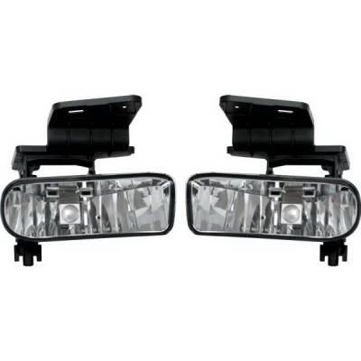 Headlights & Tail Lights - Fog Lights - Restyling Ideas - Chevrolet Silverado Restyling Ideas Fog Light Kit - 33-CVSI-99FC