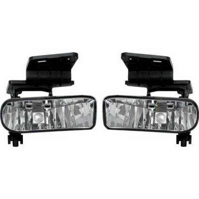 Headlights & Tail Lights - Fog Lights - Restyling Ideas - Chevrolet Suburban Restyling Ideas Fog Light Kit - 33-CVSI-99FC