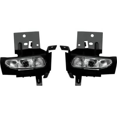 Headlights & Tail Lights - Fog Lights - Restyling Ideas - Ford Mustang Restyling Ideas Fog Light Kit - 33-FDMU-94FC