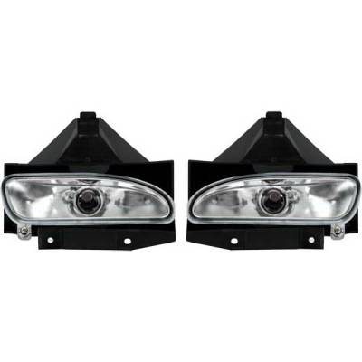Headlights & Tail Lights - Fog Lights - Restyling Ideas - Ford Mustang Restyling Ideas Fog Light Kit - 33-FDMU-99FC