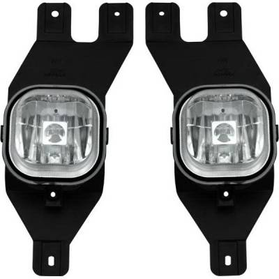 Headlights & Tail Lights - Fog Lights - Restyling Ideas - Ford Superduty Restyling Ideas Fog Light Kit - 33-FDSPD-01FC