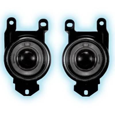 Headlights & Tail Lights - Fog Lights - Restyling Ideas - Pontiac Bonneville Restyling Ideas Projector Fog Light Kit - 33-FGPR-DNL01