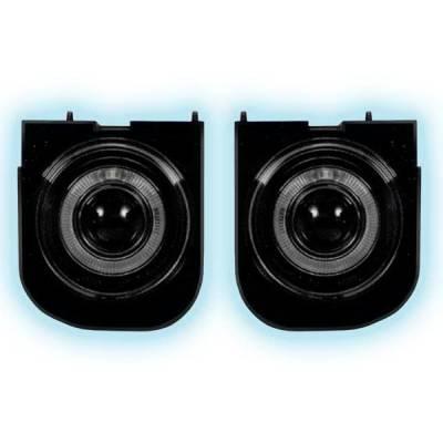Headlights & Tail Lights - Fog Lights - Restyling Ideas - Ford Explorer Restyling Ideas Projector Fog Light Kit - 33-FGPR-EXPL99
