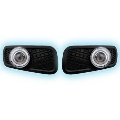 Headlights & Tail Lights - Fog Lights - Restyling Ideas - Ford F150 Restyling Ideas Projector Fog Light Kit - 33-FGPR-F15004