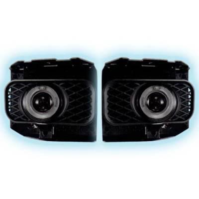Headlights & Tail Lights - Fog Lights - Restyling Ideas - Ford F150 Restyling Ideas Projector Fog Light Kit - 33-FGPR-F15099