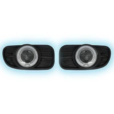 Headlights & Tail Lights - Fog Lights - Restyling Ideas - Jeep Cherokee Restyling Ideas Projector Fog Light Kit - 33-FGPR-GCH99
