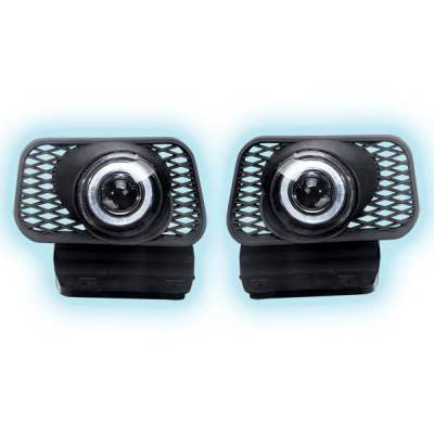 Headlights & Tail Lights - Fog Lights - Restyling Ideas - Chevrolet Silverado Restyling Ideas Projector Fog Light Kit - 33-FGPR-SIL03