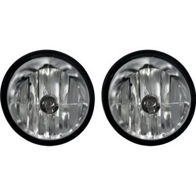 Headlights & Tail Lights - Fog Lights - Restyling Ideas - Nissan Titan Restyling Ideas Fog Light Kit - 33-NITI-04FC