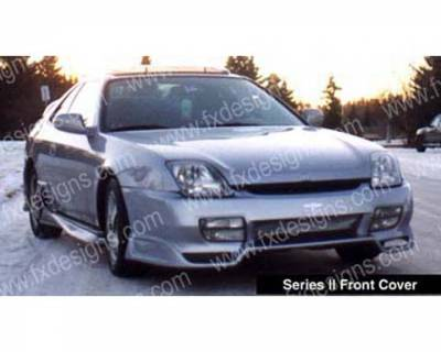 Prelude - Body Kits - FX Designs - Honda Prelude FX Design S2 Style Full Body Kit - FX-708K