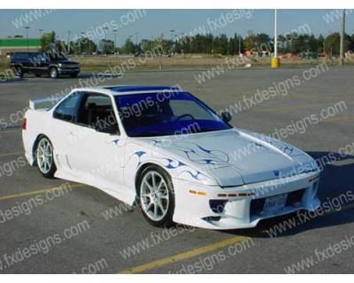 Prelude - Body Kits - FX Designs - Honda Prelude FX Design VS Style Full Body Kit - FX-951K