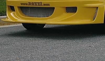 Grilles - Mesh Grille Material - Razzi - Razzi Mesh Screen Set - Non-Rusting Aluminum - 5 Piece - 414-MS-05
