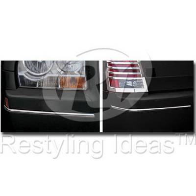 300 - Front Bumper - Restyling Ideas - Chrysler 300 Restyling Ideas Bumper Molding - 52-SS-CR30004BM