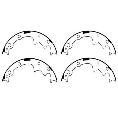 Brakes - Brake Components - Omix - Omix Brake Shoe Set - 9 inch - 16726-17