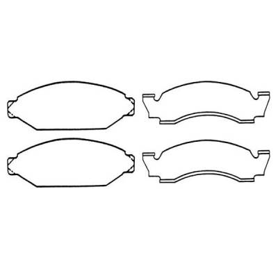 Brakes - Brake Pads - Omix - Omix Disc Brake Pad - 16728-1