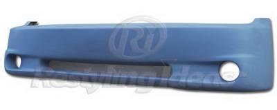 Silverado - Front Bumper - Restyling Ideas - Chevrolet Silverado Restyling Ideas Bumper Cover - Fiberglass - 61-6CV99(BC603)