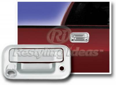 Suv Truck Accessories - Tail Gate Lock - Restyling Ideas - Ford F250 Restyling Ideas Tailgate Handle Cover with Keyhole - 65204C