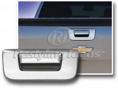 Suv Truck Accessories - Tail Gate Lock - Restyling Ideas - GMC Sierra Restyling Ideas Tailgate Handle Cover without Keyhole - 65225B