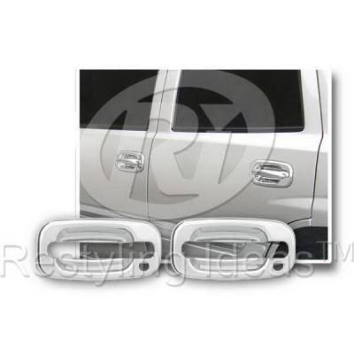 Suv Truck Accessories - Chrome Billet Door Handles - Restyling Ideas - Chevrolet Avalanche Restyling Ideas Door Handle Cover - 68102A