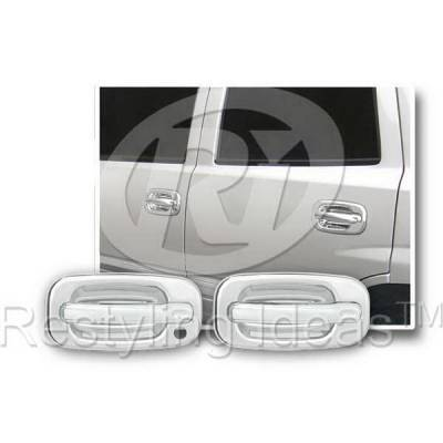 Suv Truck Accessories - Chrome Billet Door Handles - Restyling Ideas - Chevrolet Avalanche Restyling Ideas Door Handle Cover - 68102B