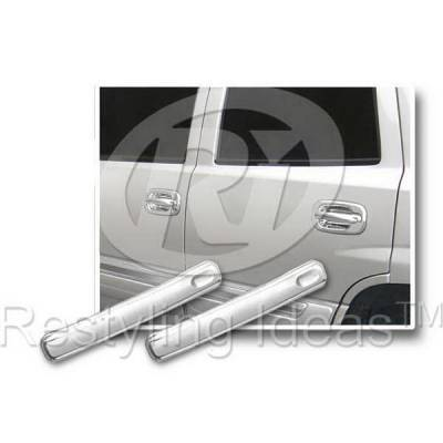 Suv Truck Accessories - Chrome Billet Door Handles - Restyling Ideas - Chevrolet Avalanche Restyling Ideas Door Handle Lever Cover - 68102C