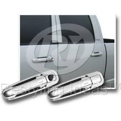 Suv Truck Accessories - Chrome Billet Door Handles - Restyling Ideas - Jeep Grand Cherokee Restyling Ideas Door Handle Cover - 68106B