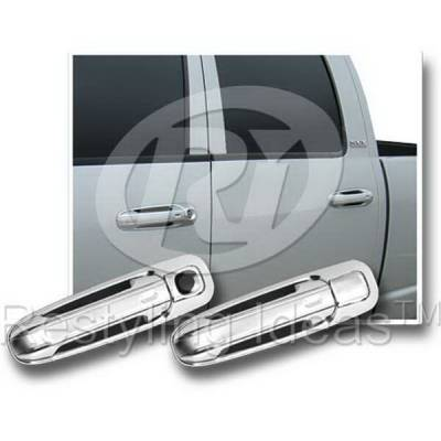 Suv Truck Accessories - Chrome Billet Door Handles - Restyling Ideas - Mitsubishi Raider Restyling Ideas Door Handle Cover - 68106B