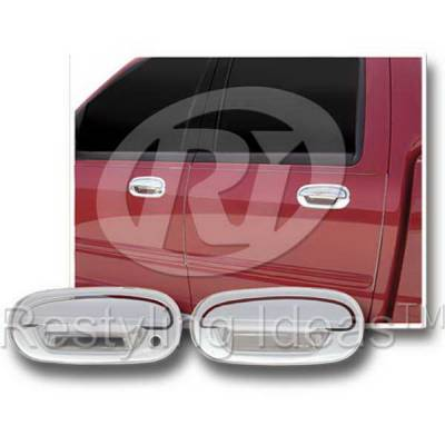 Suv Truck Accessories - Chrome Billet Door Handles - Restyling Ideas - Lincoln Blackwood Restyling Ideas Door Handle Cover - 68108A1