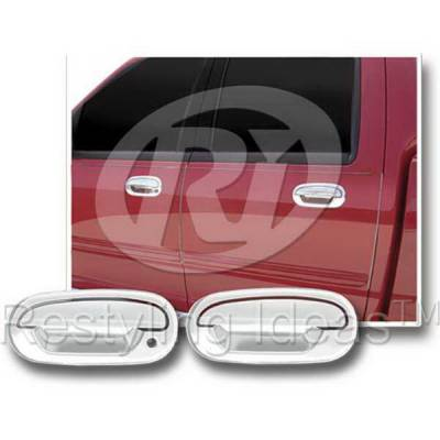Suv Truck Accessories - Chrome Billet Door Handles - Restyling Ideas - Lincoln Blackwood Restyling Ideas Door Handle Cover - 68108B1