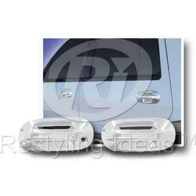 SUV Truck Accessories - Chrome Billet Door Handles - Restyling Ideas - Lincoln Navigator Restyling Ideas Door Handle Cover - 68112A