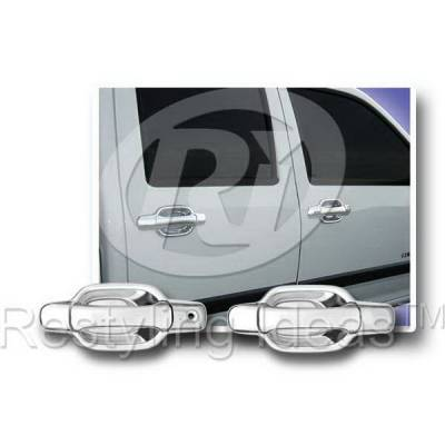 Suv Truck Accessories - Chrome Billet Door Handles - Restyling Ideas - GMC Canyon Restyling Ideas Door Handle Cover - 68114A