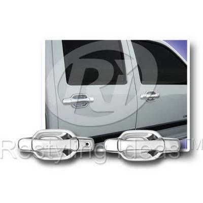 SUV Truck Accessories - Chrome Billet Door Handles - Restyling Ideas - Isuzu Pickup Restyling Ideas Door Handle Cover - 68114A