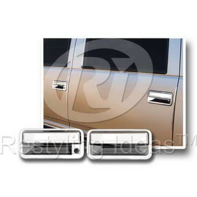 Suv Truck Accessories - Chrome Billet Door Handles - Restyling Ideas - GMC C1500 Pickup Restyling Ideas Door Handle Cover - 68119A