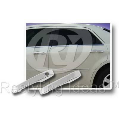 SUV Truck Accessories - Chrome Billet Door Handles - Restyling Ideas - Chrysler 300 Restyling Ideas Door Handle Cover - 68123B