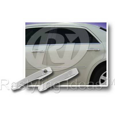 SUV Truck Accessories - Chrome Billet Door Handles - Restyling Ideas - Dodge Caravan Restyling Ideas Door Handle Cover - 68123B